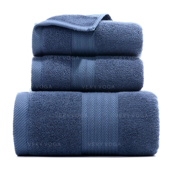 Comfortable High Quality Wayfarer Cotton Towel Set (Set of 3)