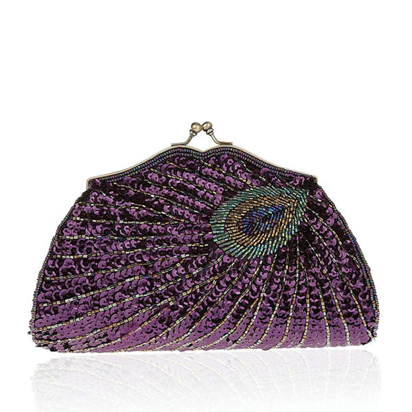 Elegant Sequin/Sparkling Glitter Clutches/Bridal Purse/Fashion Handbags/Makeup Bags/Luxury Clutches