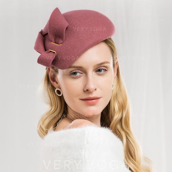 Ladies ' Specjalny/Uroczy/Prosty/Znakomity/Wysoka jakość/Romantyczny/Zabytkowe/Artystyczny Wełna Beret Hat