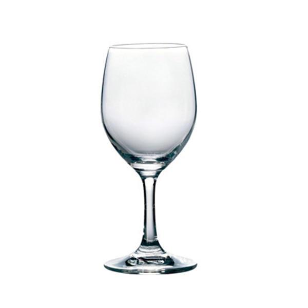Simples Vidro copos de vinho (conjunto De 6)