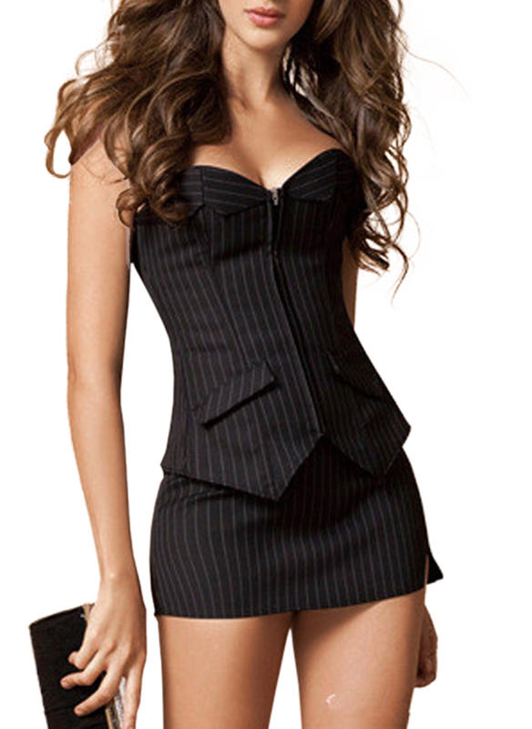 Coton Striped Corset