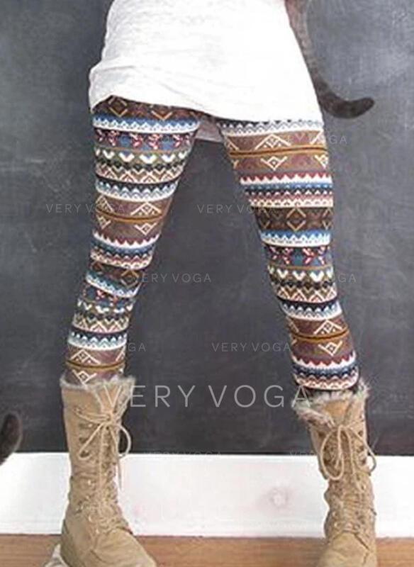 Shirred Übergröße Weihnachten Lange Lässige Kleidung Yoga Gamaschen
