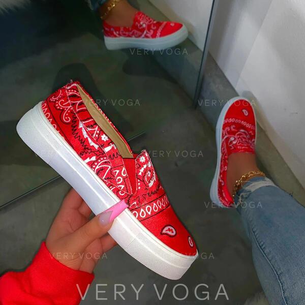 Donna PU Casuale All'aperto con Fascia di gomma scarpe