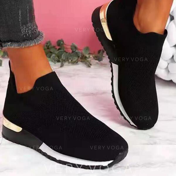 Pentru Femei PU Fară Toc Balerini Teneşi cu Lace-up Splice Color pantofi