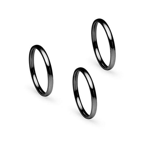 Exquisite Titanium Steel Women's Rings
