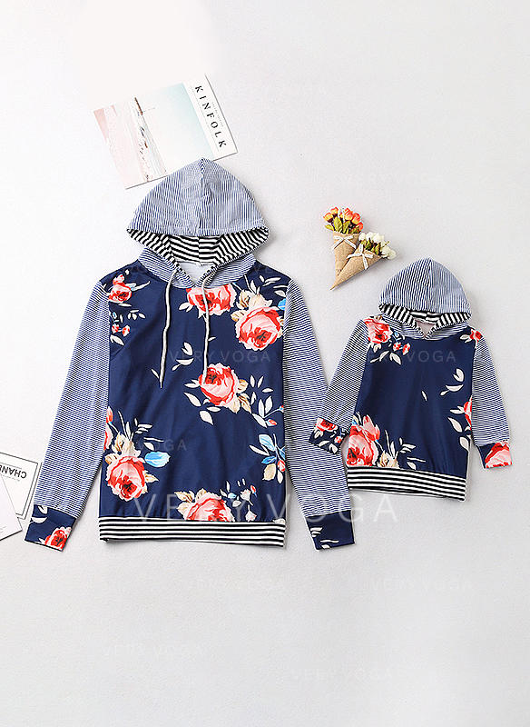 Mommy and Me Print Matching Sweatshirts