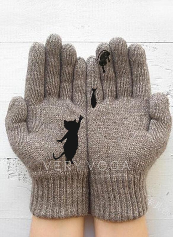 Szyfon Wygodny/Przeznaczony dla zwierząt/Palce Rękawiczki