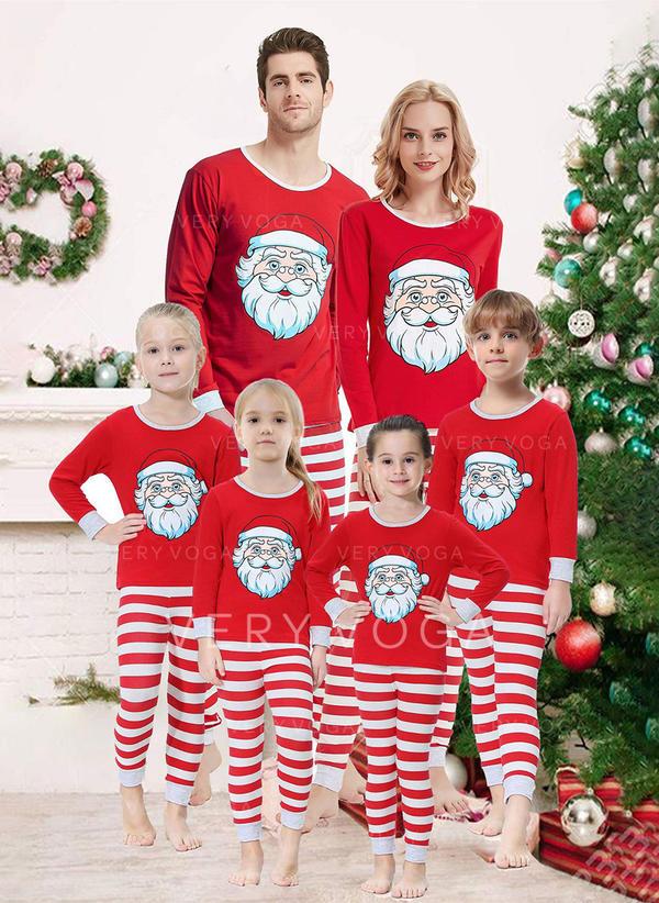 Santa Print Family Matching Christmas Pajamas