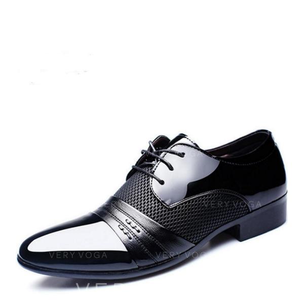 Men's Latin Modern Flats Microfiber Leather Latin