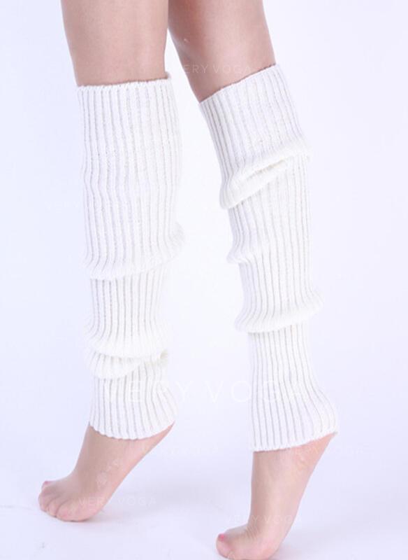 Pruhované/Jednobarevná Komfortní/Dámské/Návleky na nohy/Ponožky na manžetové knoflíky Ponožky