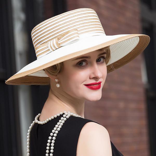 Ladies ' Elegancki Poliester Floppy Hat