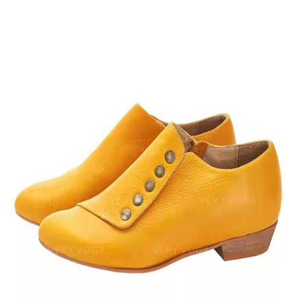 Женский PU Толстый каблук Ботильоны с другие обувь