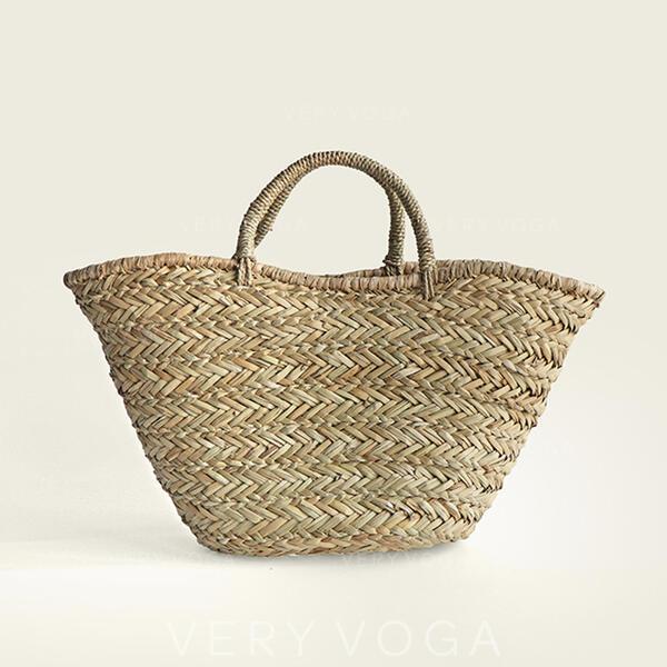 Elegante/Clássica/Bolinho de massa Shaped/Estilo boêmio/Trançado Bolsas de lona/Sacos de praia