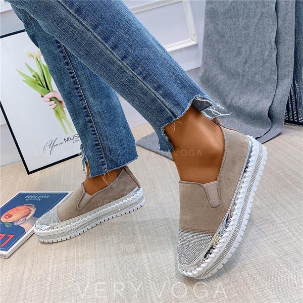 Vrouwen PU Casual met Strass schoenen