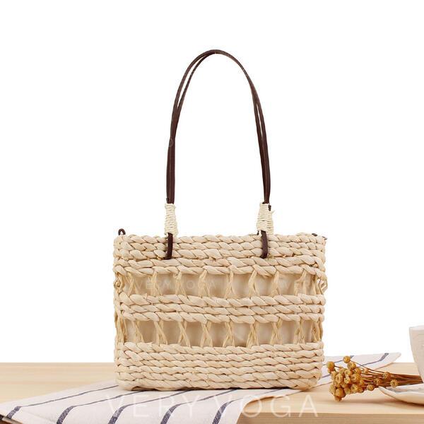Elegante/Charme/Estilo boêmio/Trançado Bolsa de Ombro/Sacos de praia