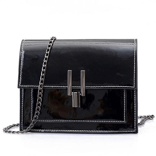 Delicate/Solid Color PU Crossbody Bags/Shoulder Bags
