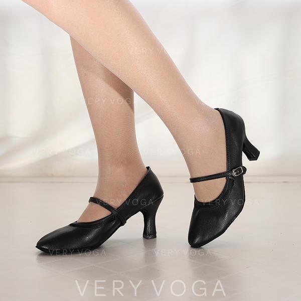 Women's Modern Jazz Heels Suede Leatherette Modern