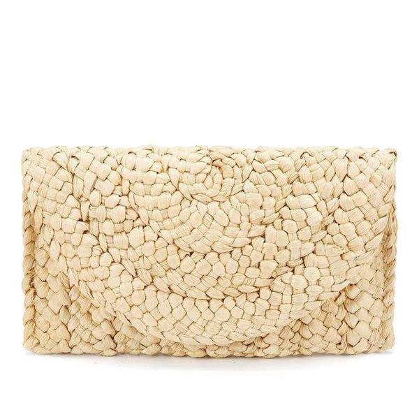 Charming Straw Clutches/Wallets & Wristlets/Beach Bags