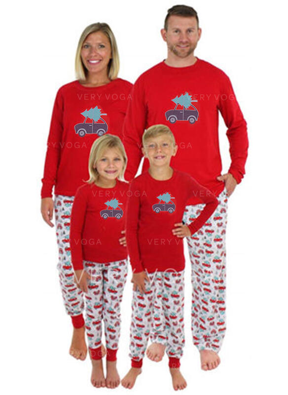 Cartoon Family Matching Christmas Pajamas