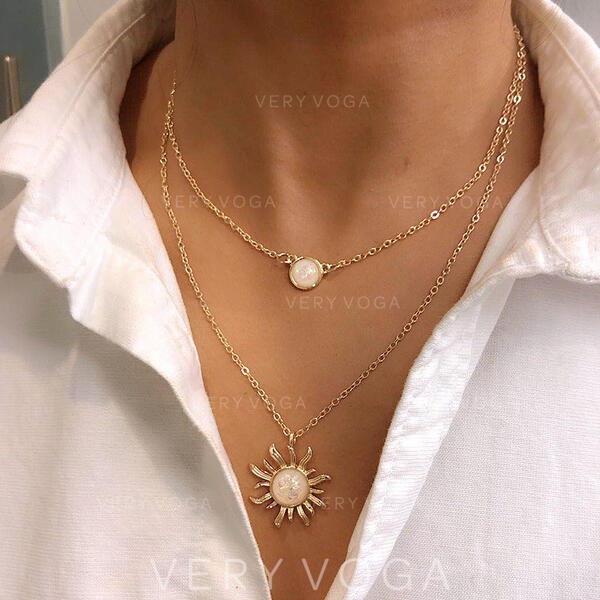 Charming Alloy Necklaces