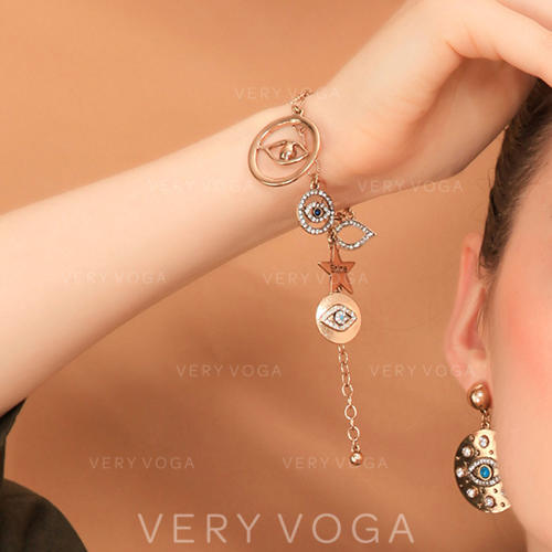 Beautiful Alloy With Rhinestone Women's Bracelets