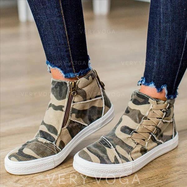 Mulheres Couro Casual Outdoor sapatos