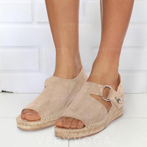 PU Keil Absatz Sandalen mit Andere Schuhe