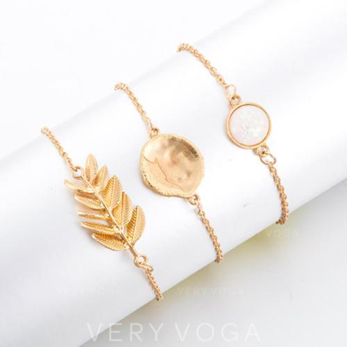Exquisite Alloy Women's Bracelets (Set of 3)
