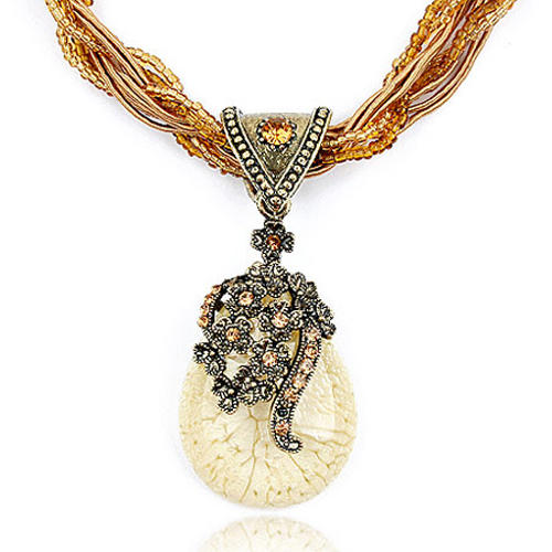 Exotic Alloy Rhinestones Women's Necklaces